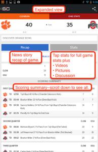 ESPN last one