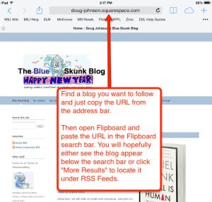 flipboard URL blog