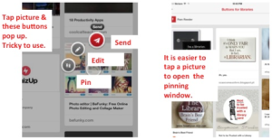 pinterest pin feed