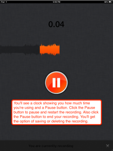 SoundCloud pause button info