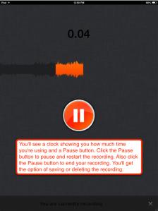 SoundCloud pause button info