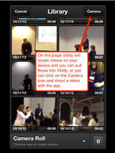 viddy apple camera page