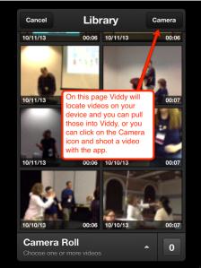 viddy apple camera page